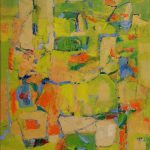 """Green Spaces - oil on canvas - 20: x 24"""""""